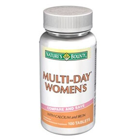 Natures Bounty  Multi Day Woman tabletta