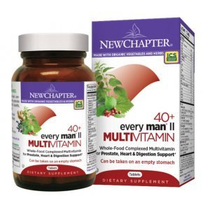 New Chapter Every Man II 40+ multivitamin