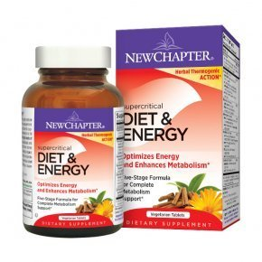 New Chapter Supercritical Diet & Energy tabletta