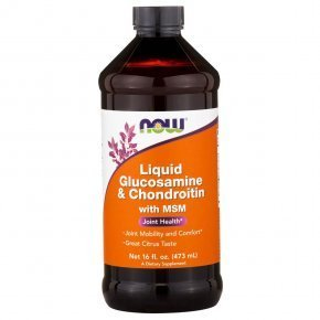 Now Liquid Glucosamine & Chondroitin with MSM szirup
