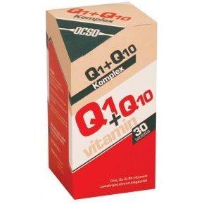 Q10+Q1 koenzim - 30 db tabletta