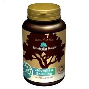 Rainforest Bio Chlorella-Spirulina tabletta