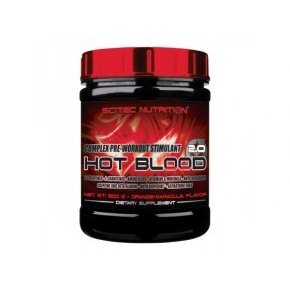 Scitec Nutrition Hot Blood blue guarana italpor