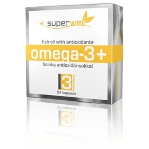 Superwell omega-3+ kapszula