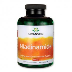 Swanson Niacinamid B3-vitamin tabletta
