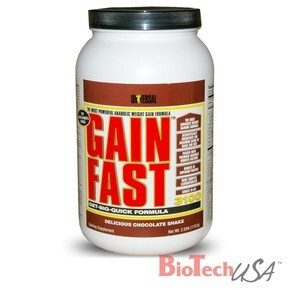Universal Nutrition Gain Fast 3100 banán shake