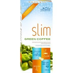 Vita Crystal Zöld kávé - Slim Green Coffee + Stevia + Mg