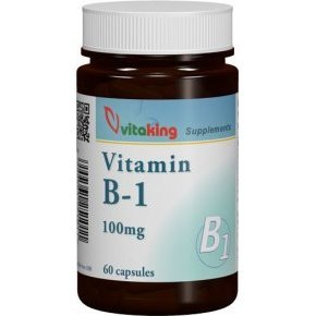 Vitaking B1-vitamin 100mg kapszula