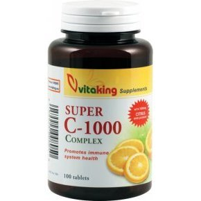 Vitaking Super C-1000 komplex vitamin tabletta