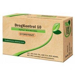 Drogkontroll 10 gyorsteszt - 1db