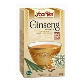 Bio ginsengvirág tea - 17 filter/doboz