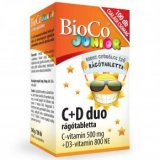 BioCo C+D duo Junior rágótabletta