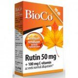 BioCo Rutin 50mg + 100mg C-vitamin tabletta