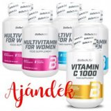 BioTech USA Multivitamin for Men 2db + for Women 2db + 1db ajándék Biotech C-vitamin 1000mg 100db