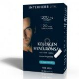 Interherb Vital Kollagén & Hyaluronsav for Man