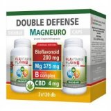 Vita Crystal Double Defense Magneuro Mg + B-complex vitamin + CBD  kapszula