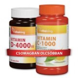 Vitaking D-4000 vitamin 90db + Vitaking C1000 Bioflavonoid 90db