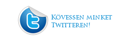 K�vessen minket a Twitteren is!
